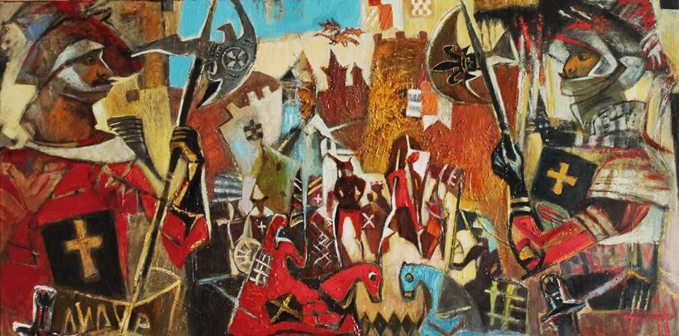Galya Didur - Игры в средневековье. Cтражники