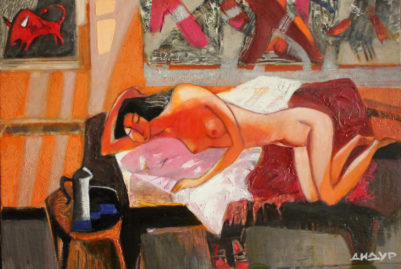 Galya Didur - The Rape of Europe in interior