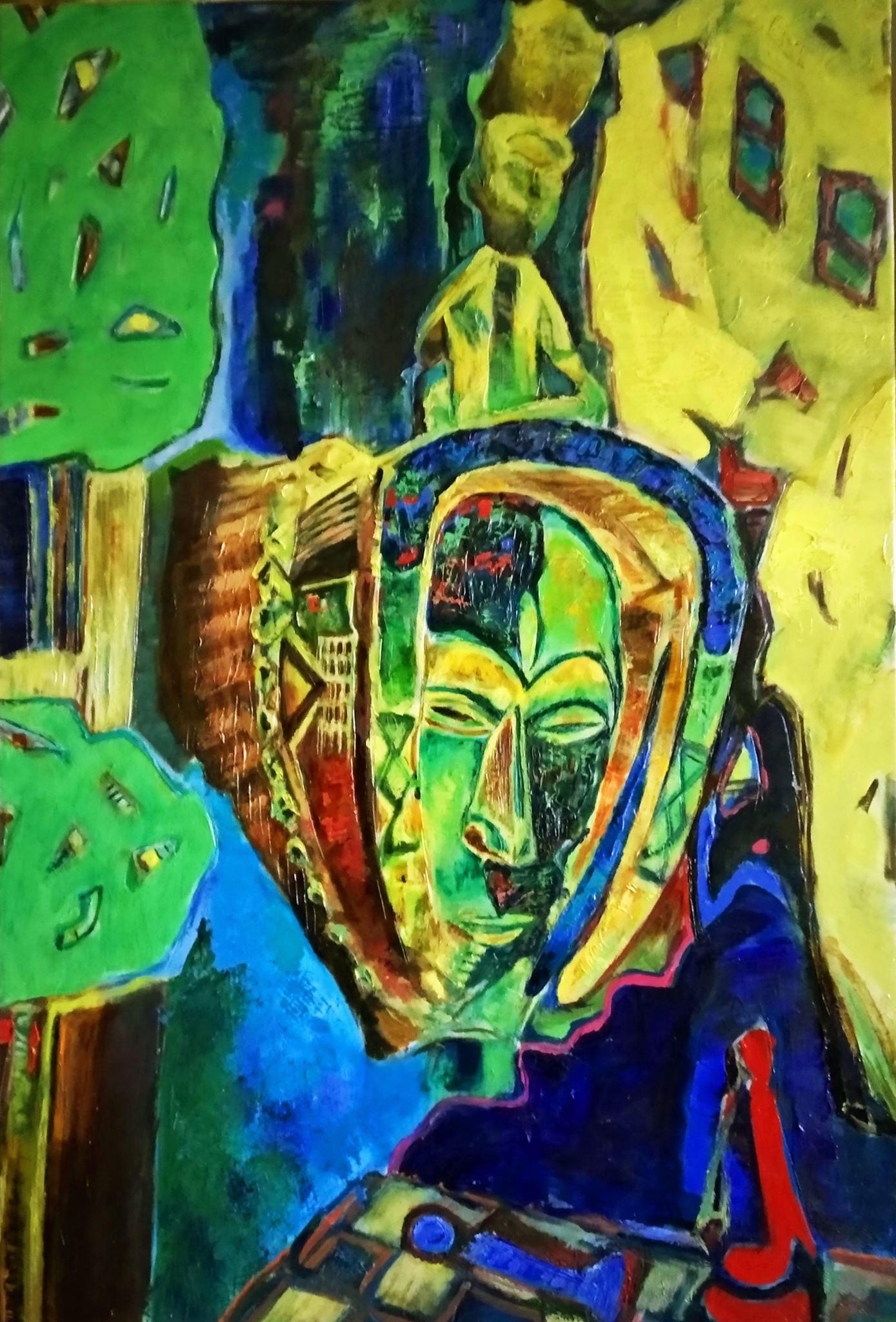 Galya Didur - African masks 2