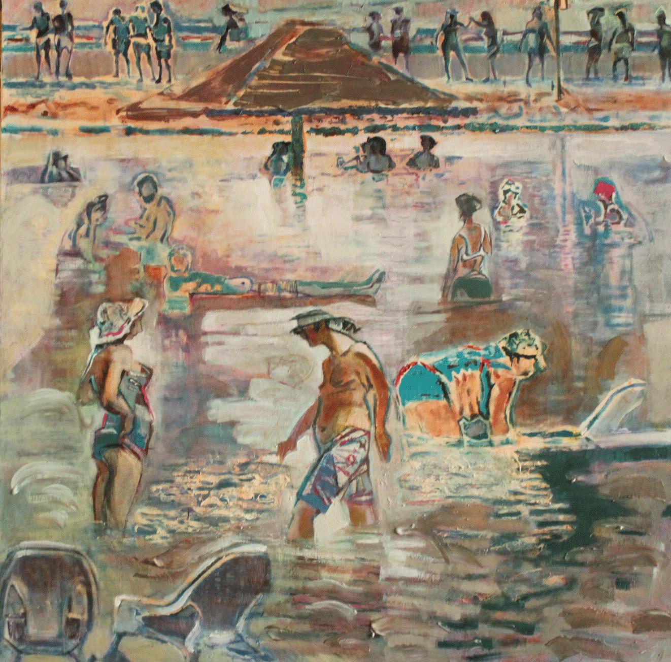 Galya Didur - Levels. The Dead Sea