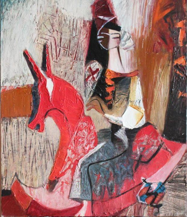 Galya Didur - Red horse